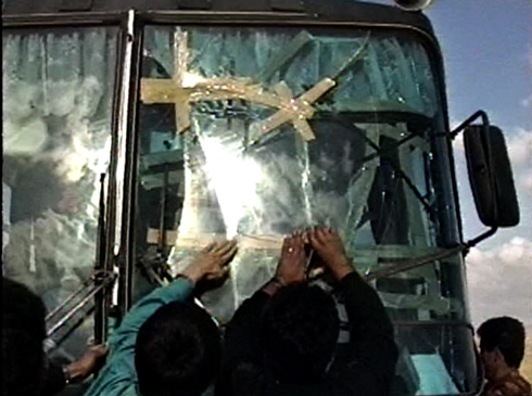 The bus to Kurdistan has seen better days.