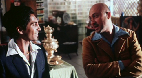 Parviz and Houshang meet Dariush (Bobby Dayani) who goes by the nickname of 'Disco Danny.' Parviz admonishes him for the callousness in which Dariush forgoes his namesake and heritage.