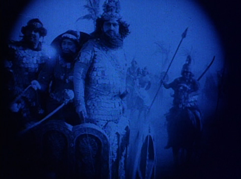 According to the movie, 'Cyrus sweeps on to Babylon's destruction.' Though most historical accounts tell that Cyrus entered the gates of Babylon without any resistance from its inhabitants.