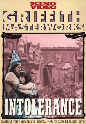 Intolerance: Love's Struggle Through the Ages DVD Case