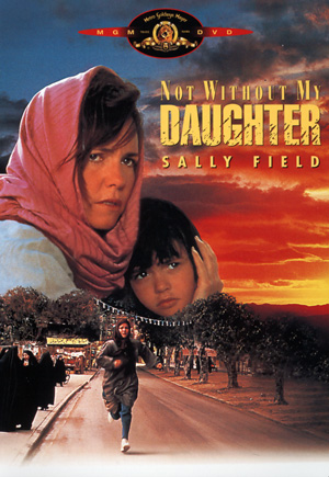 Not Without My Daughter DVD Case