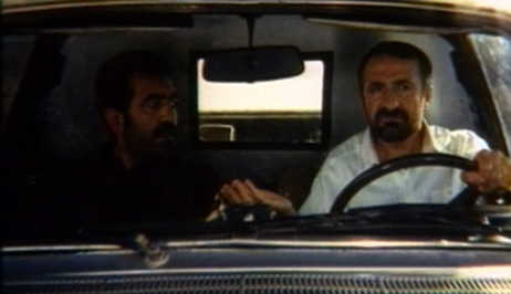 The driver of the hearse (Mehran Rajabi), who volunteered his vehicle for the film, now makes his way north as well. He tells his grieving passenger of his former job as a Tehran cab driver and the advantages of driving a hearse, 'now my passenger sits still and silent.'