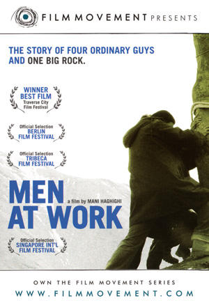 Men at Work DVD Case